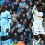Susunan Pemain Swansea City Kontra Manchester City