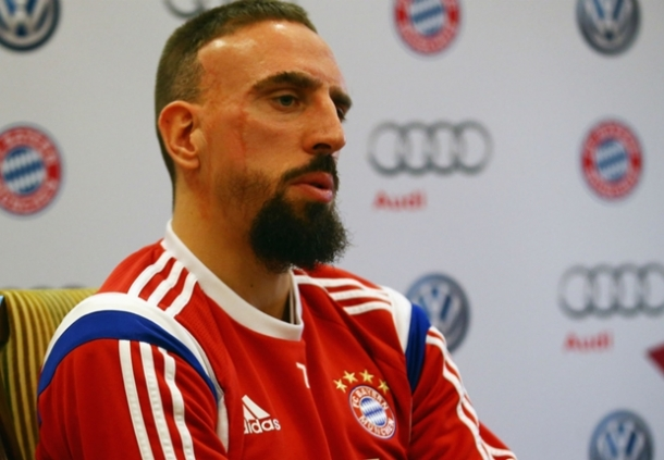 Franck Ribery Akui Jika Ballon D'Or Akan Tetap Jadi Milik Messi Dan Ronaldo