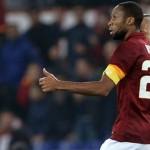 Seydou Keita Pemain Terbaik AS Roma Kontra Juventus